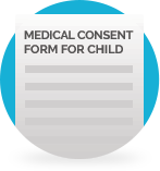 Medical Consent Form for Child Template