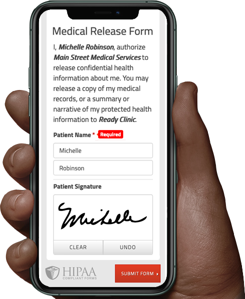 Medical Release Form -Template