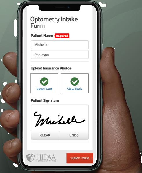 Optometry Intake Form
